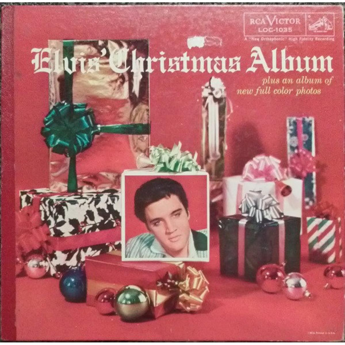 Elvis Presley Elvis Christmas Album.Elvis Presley Elvis Christmas Album Lp