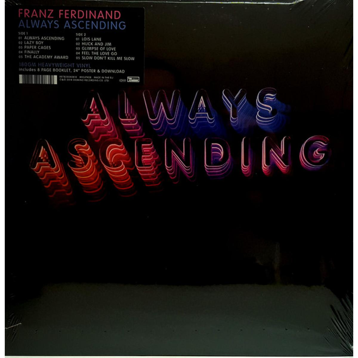 Resultado de imagen de franz ferdinand always lp cover